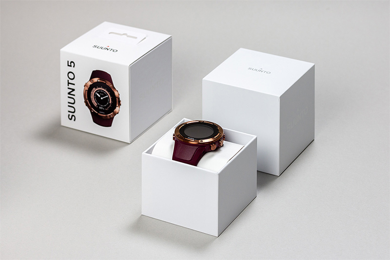 Suunto watches packaging design article