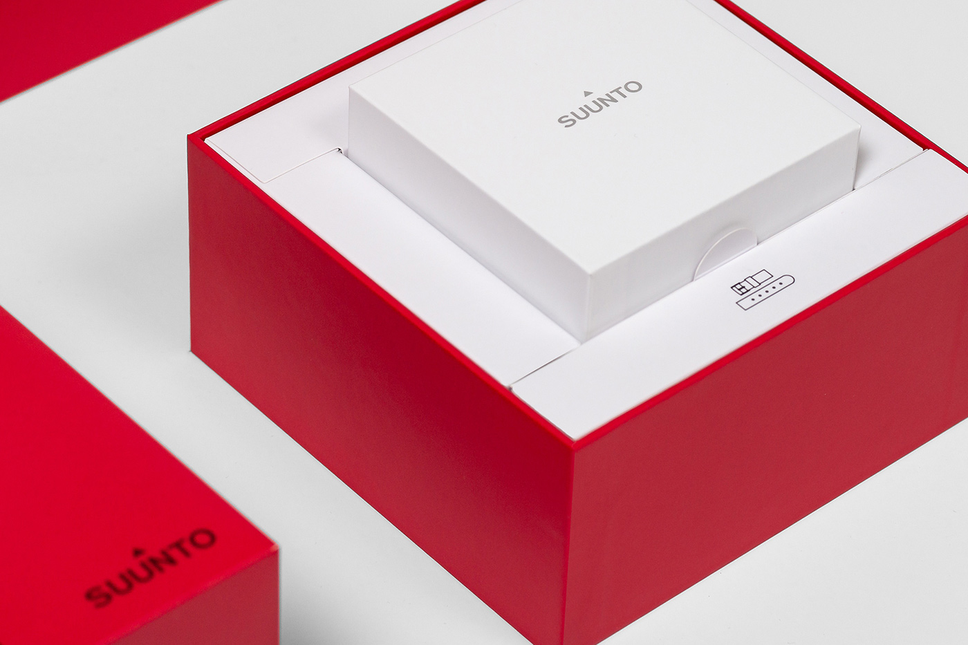 Suunto gift box packaging design