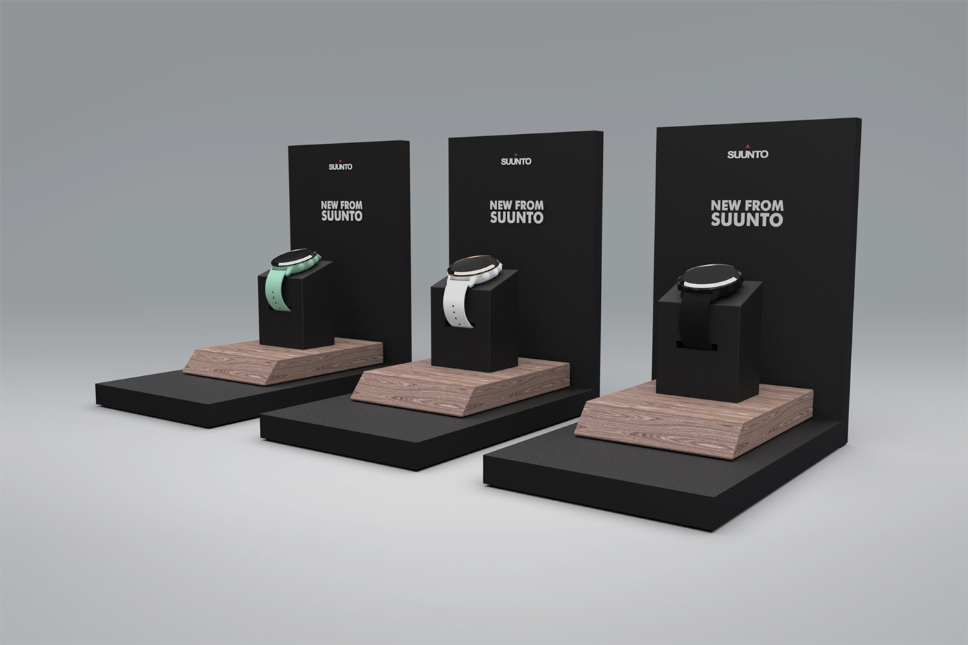Suunto retail display design