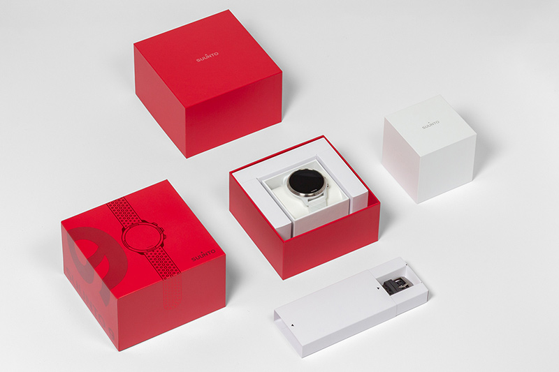 Suunto watches gift box packaging design