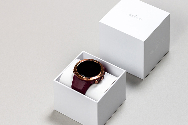 Suunto watches product packaging design