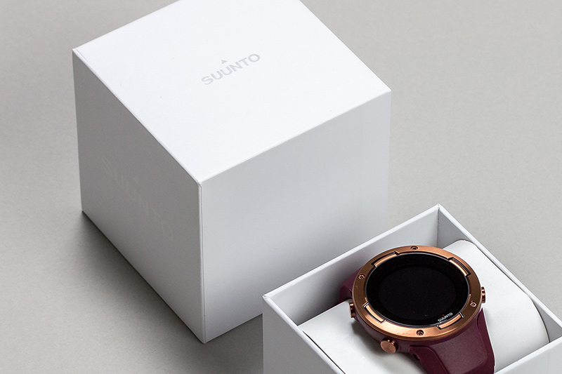 Suunto smart watches product packaging design